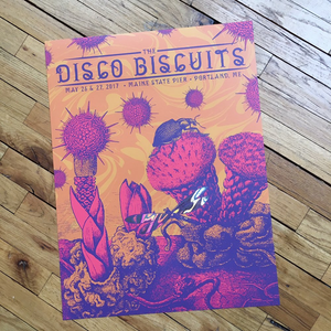 The Disco Biscuits - Portland Lava Foil