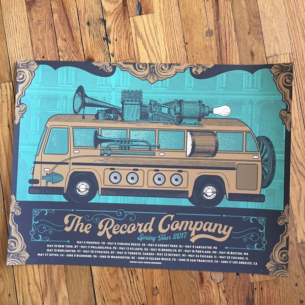 The Record Company 2017 Tour