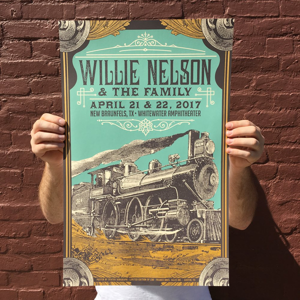 Willie Nelson - New Braunfels, TX
