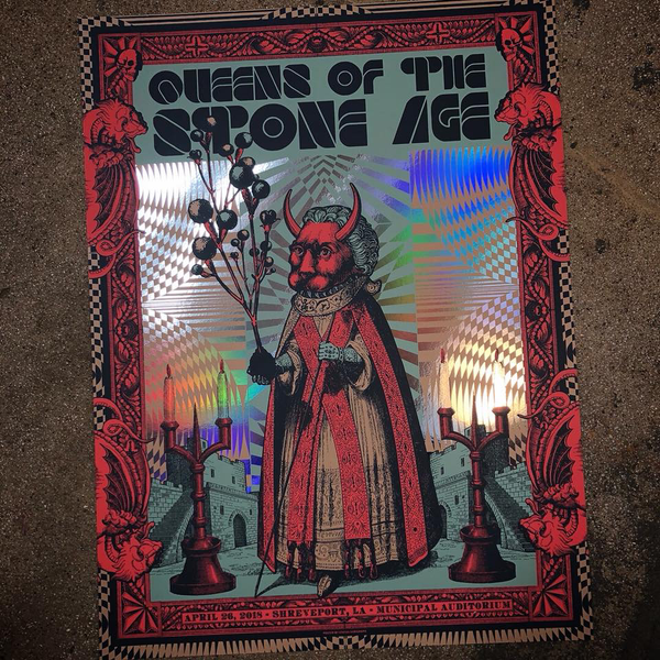 Queens of the Stone Age - Shreveport FOIL