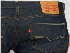 LEVIS 511 SLIM FIT DENIM 34 Inseam
