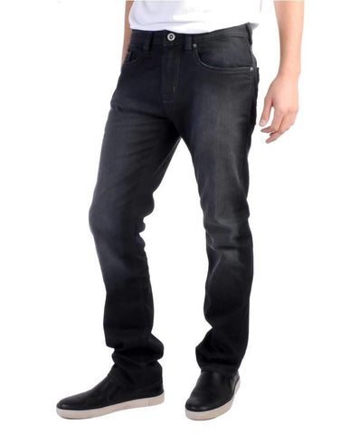 BUFFALO DAVID BITTON EVAN-X COATED SLIM STRAIGHT