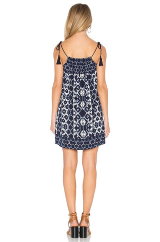 BB DAKOTA LYNDON NAVY SWING DRESS
