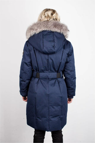 TOBOGGAN EVA B LONG SWEETHEART DOWN JACKET