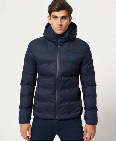 SUPERDRY ECHIO QUILTED DOWN PUFFER