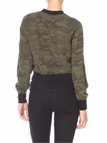 SANCTUARY  SHRUNKEN BOMBER JACKET
