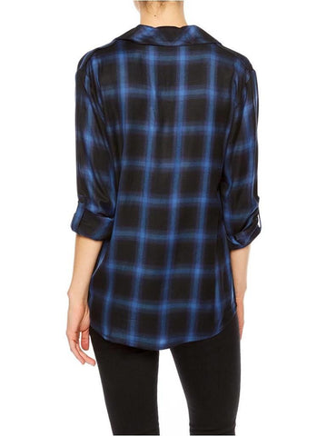 SANCTAURY BOYFRIEND BUFFALO GINGHAM