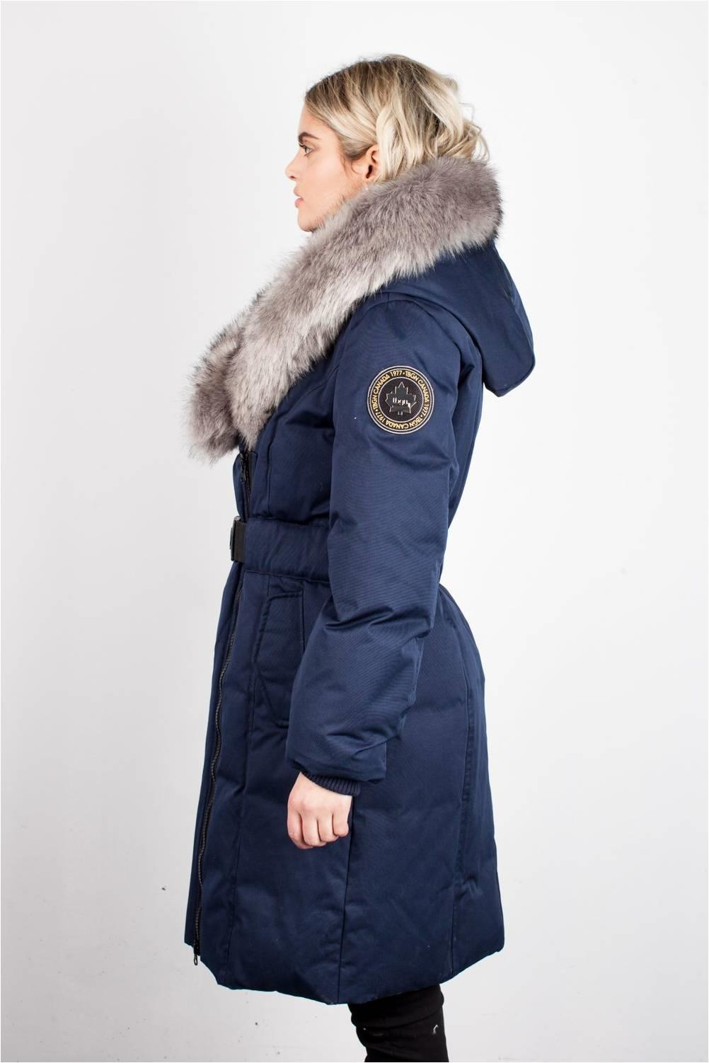TBGGN EVA B LONG NAVY SWEETHEART DOWN JACKET