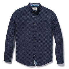 ORIGINAL PENGUIN OPEN DOTS BLUE HERITAGE SLIM FIT