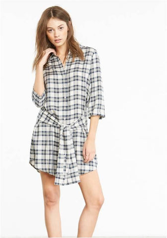 BB DAKOTA PLAID TUNIC