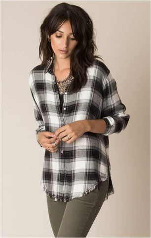 WHITE CROW NATIVE PLAID