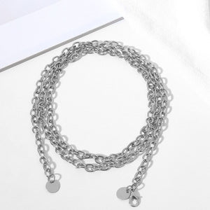 Modern Metal Waistband Chain - Wish Saint