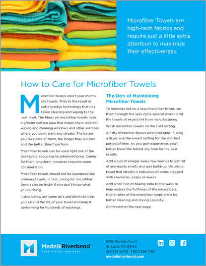 How top Care for Microfiber Towels