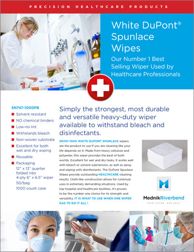 Healthcare White Spunlace