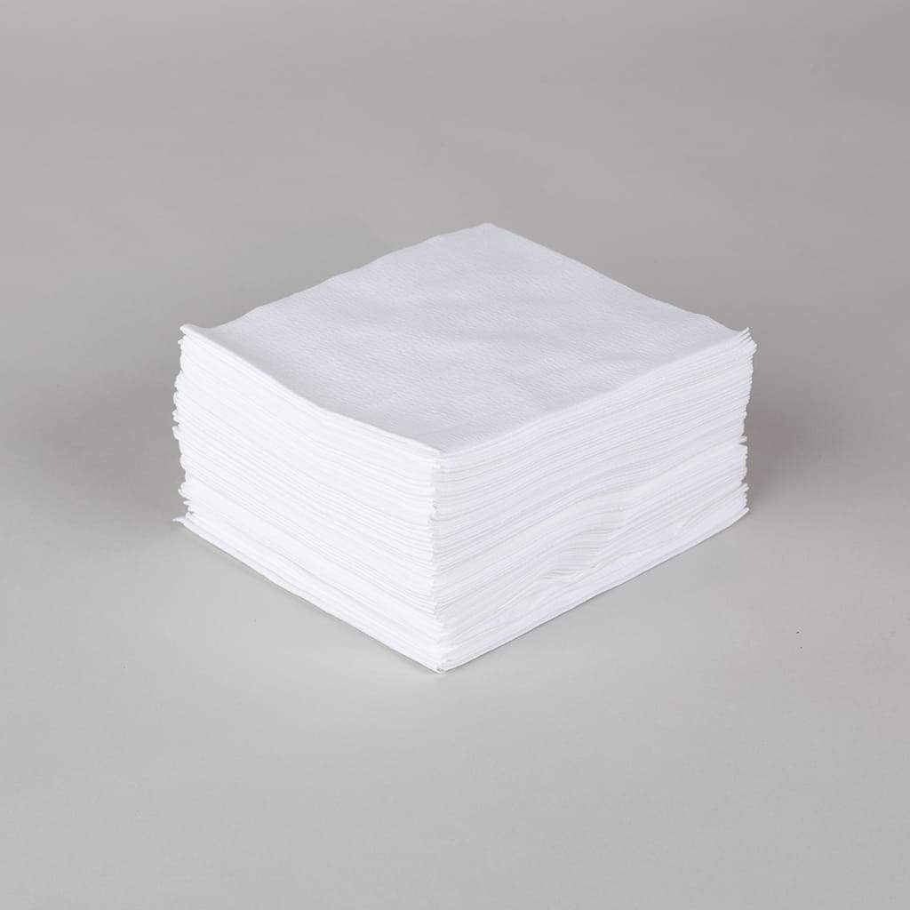 White Dupont® Spunlace Wipes-image-1
