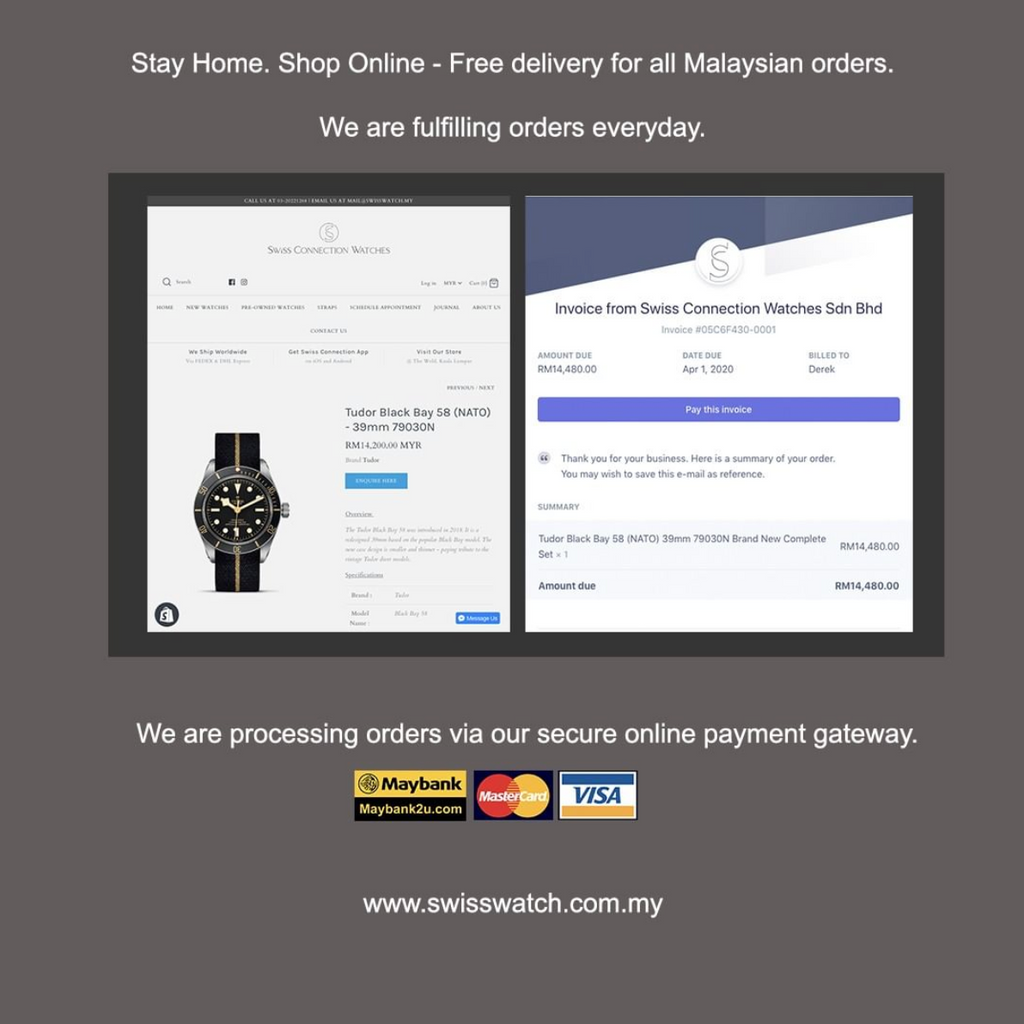 Stay Home. Shop Online - Secure Online Credit Card Processing.