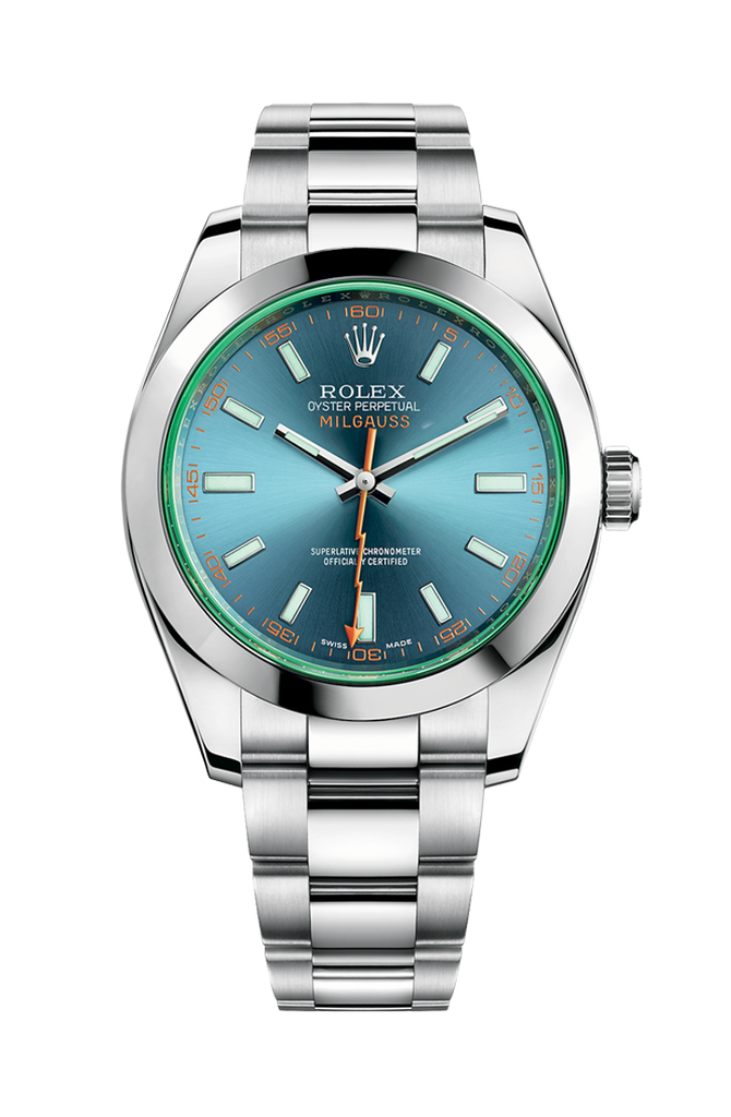 Rolex Milgauss 40mm 116400GV Z-Blue
