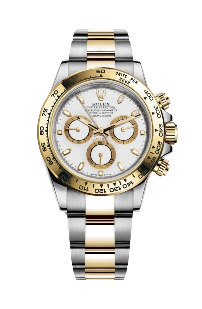Rolex Cosmograph Daytona Steel Rolesor - White Dial 116503