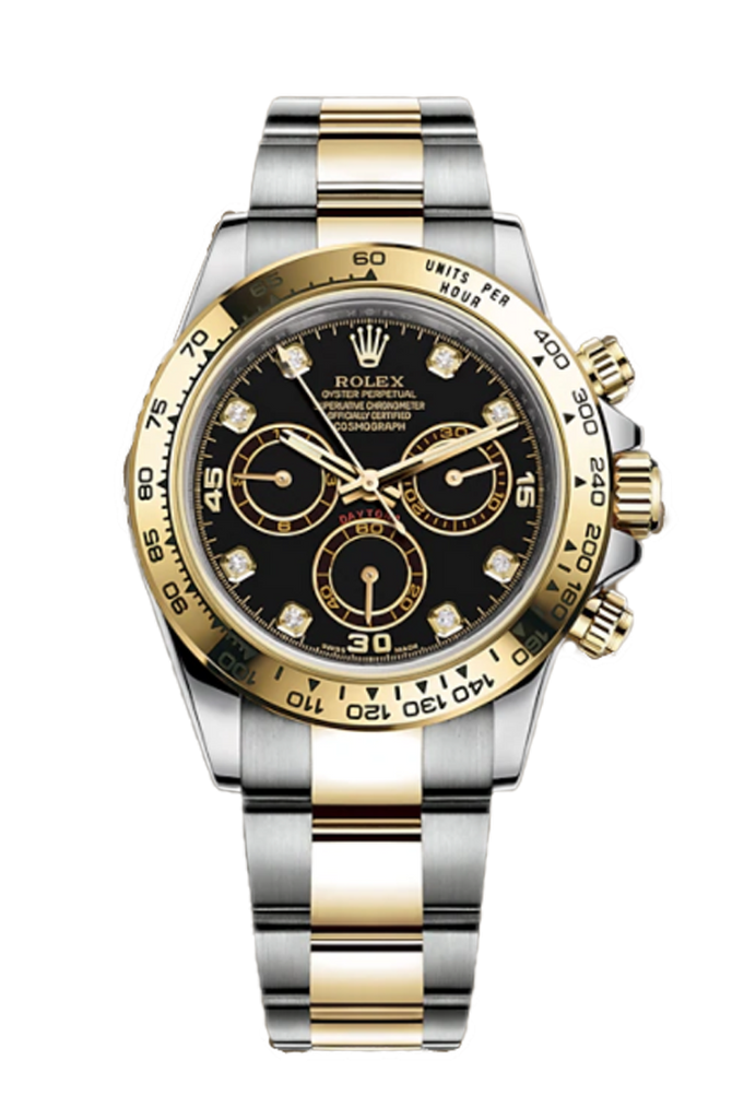 Rolex Cosmograph Daytona Steel Rolesor 8 Diamonds 116503G