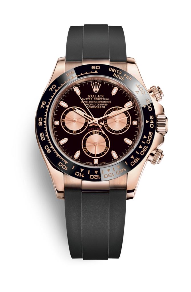 Rolex Cosmograph Daytona Rose Gold on Oysterflex 116515LN