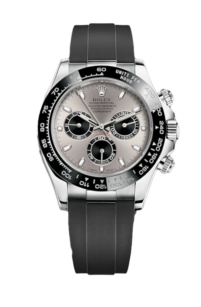 Rolex Cosmograph Daytona White Gold on Oysterflex 116519LN