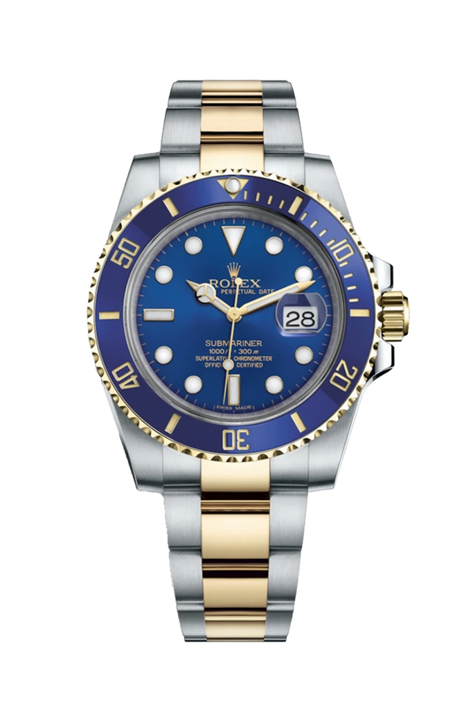 Rolex Submariner Steel Gold Date 116613LB