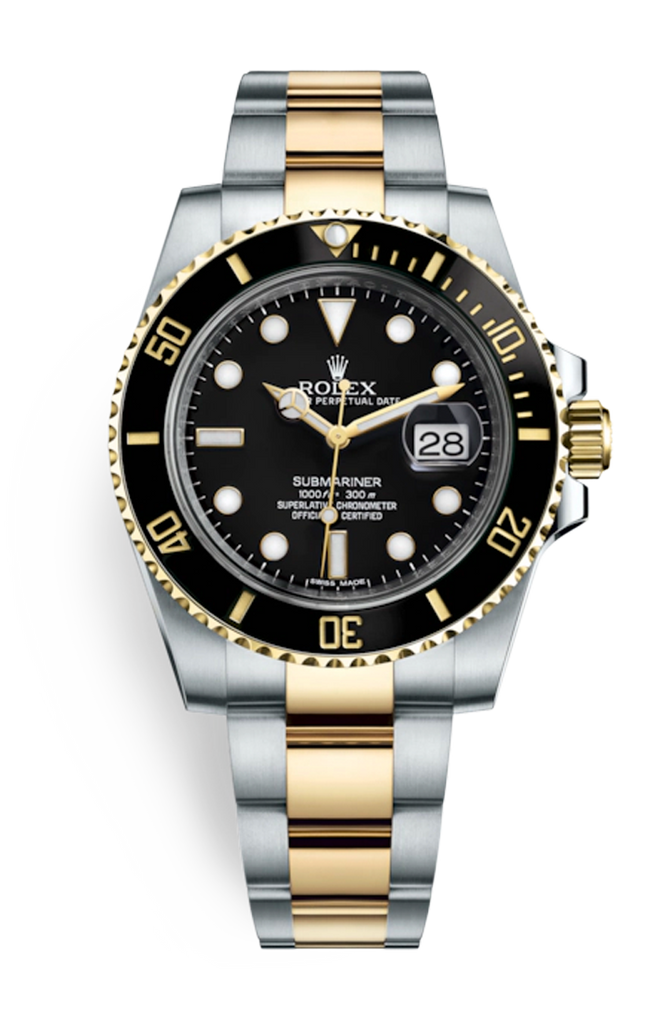 Rolex Submariner Steel Gold Date 116613LN [Discontinued]