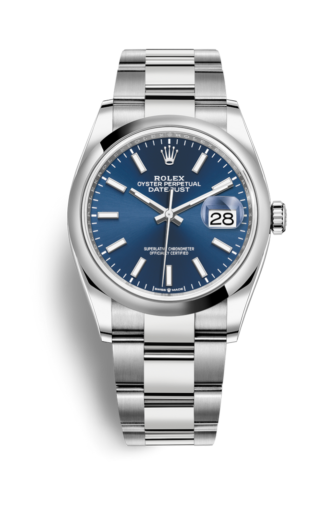 Rolex Datejust 36mm Blue Dial 126200