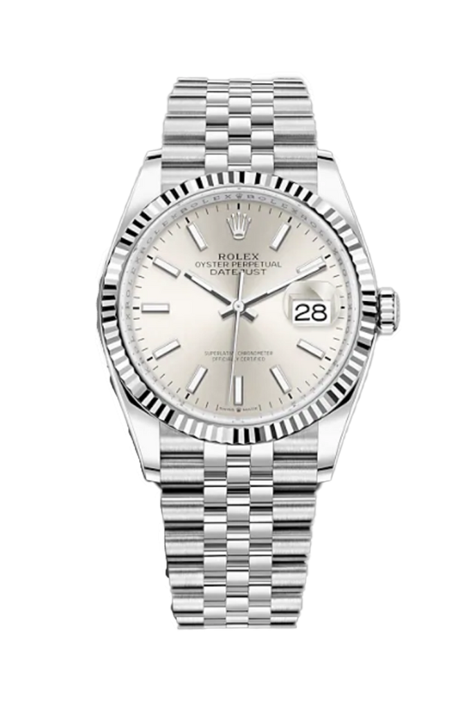 Rolex Datejust 36mm Silver Dial on Jubilee Bracelet 126234