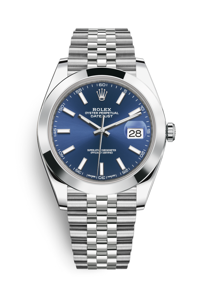 Rolex Datejust 41mm Blue Dial Jubilee 126300