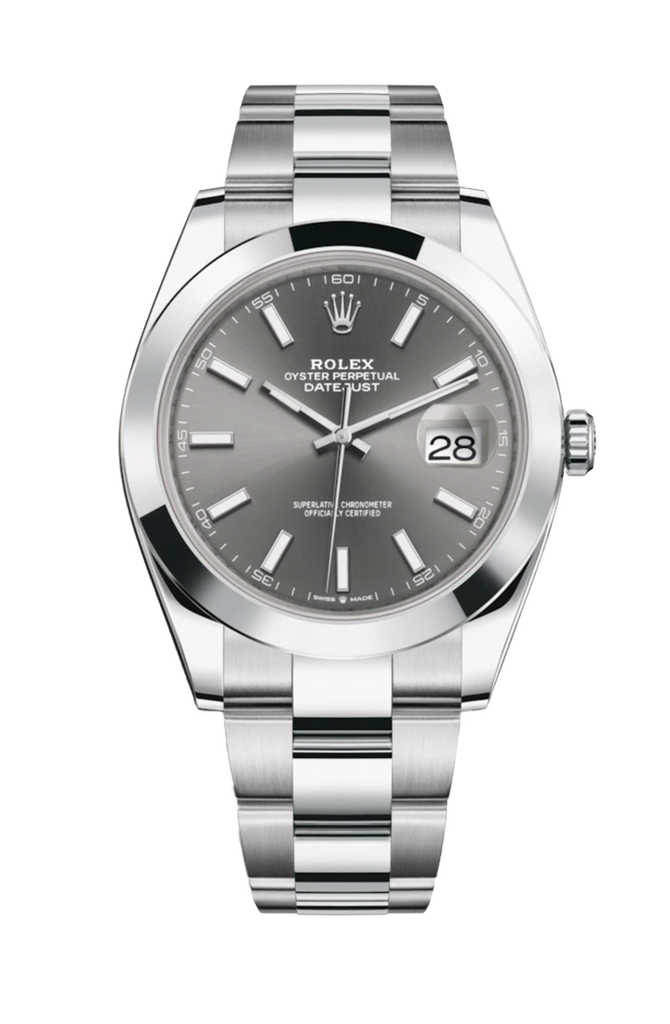 Rolex Datejust 41mm Rhodium Dial 126300