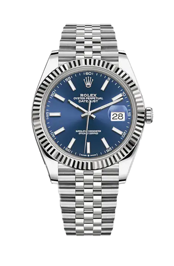 Rolex Datejust 41mm Blue Dial on Jubilee Bracelet 126334