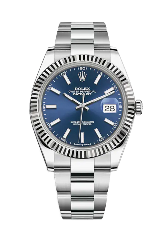 Rolex Datejust 41mm Blue Dial 126334
