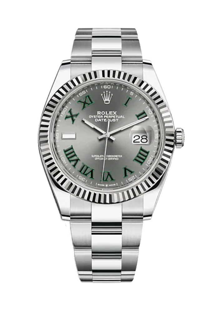 Rolex Datejust 41mm Wimbledon Dial 126334