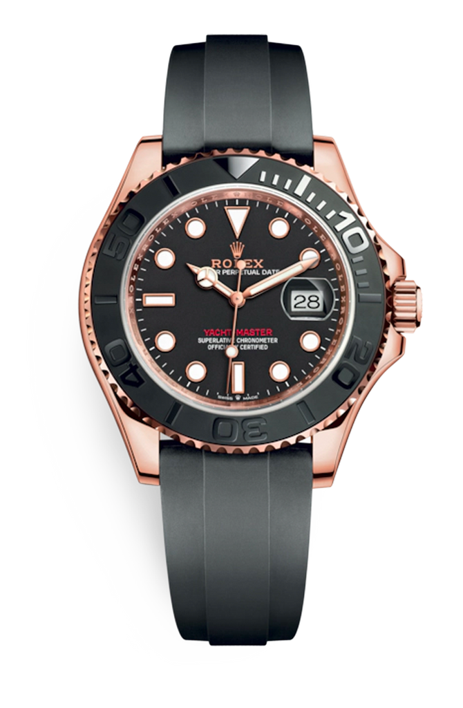 Rolex Yachtmaster Everose Oysterflex 40mm 126655 <2020>