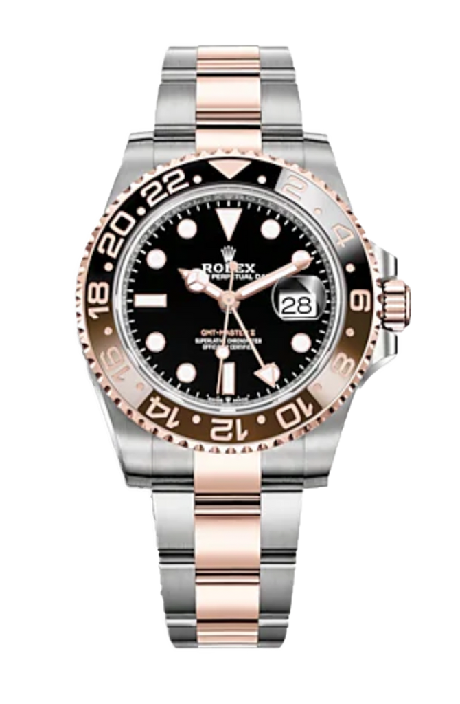 "Rolex GMT Master II ""Root Beer"" Steel & Everose 126711CHNR"