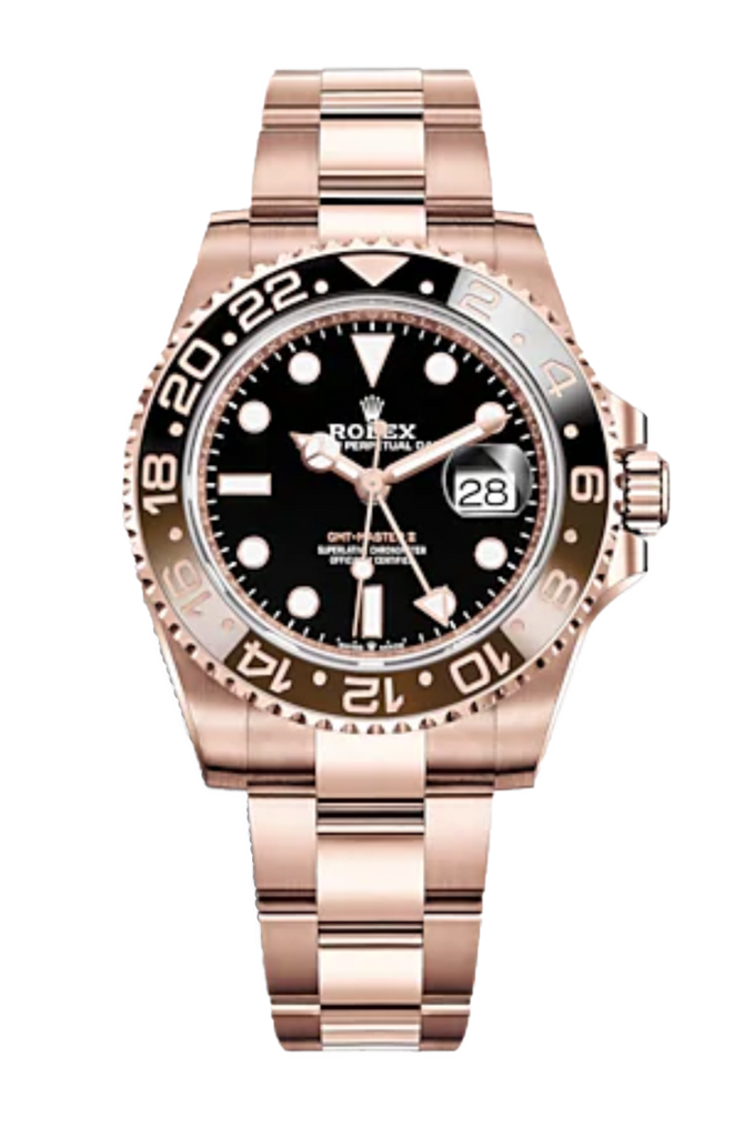 "Rolex GMT Master II ""Root Beer"" Everose 126715"