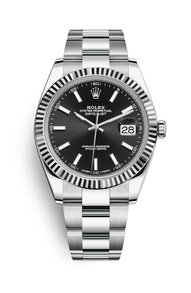 Rolex Datejust 41mm Black Dial 126334