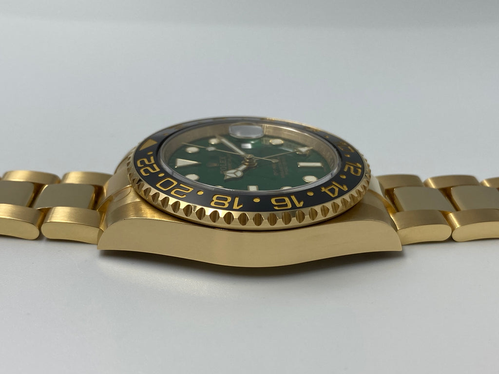 Rolex GMT Master II YG Green 116718LN Discontinued 2018 [Preowned]