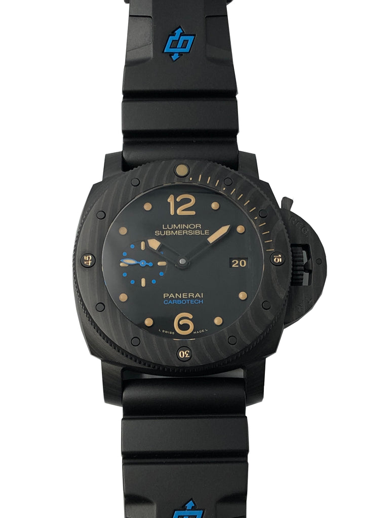 Panerai Submersible 1950 3 Days Carbotech PAM00616 [New Old Stock]