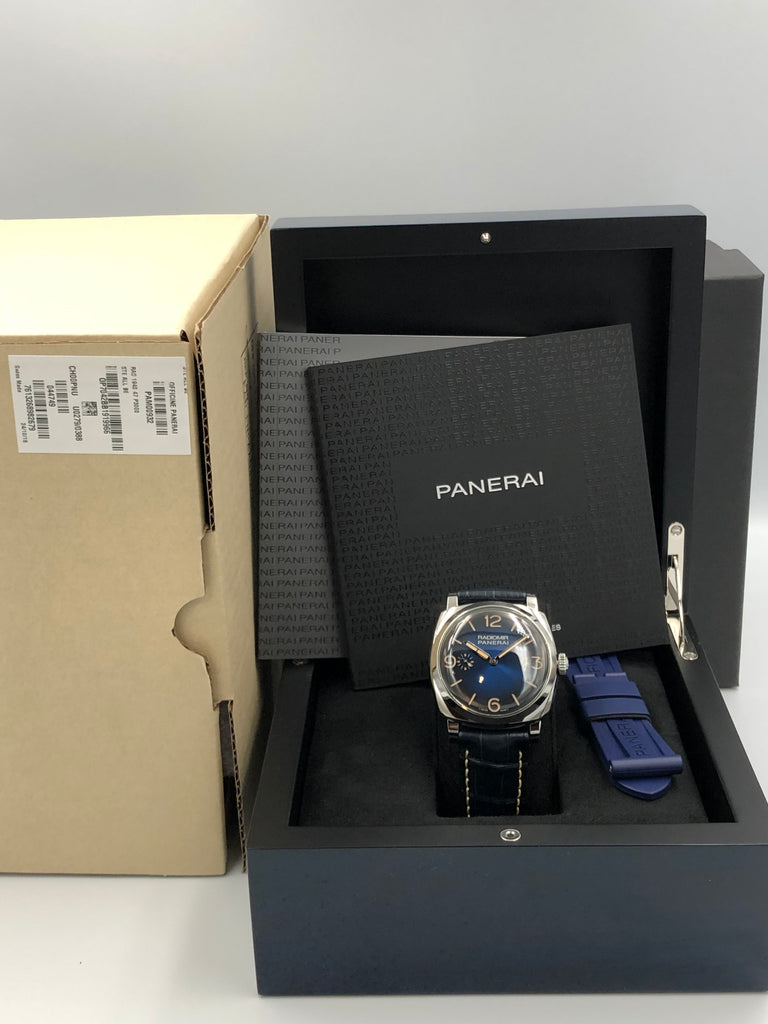 Panerai Radiomir 1940 3 Days Mediterraneo Blue Boutique Edition PAM00932