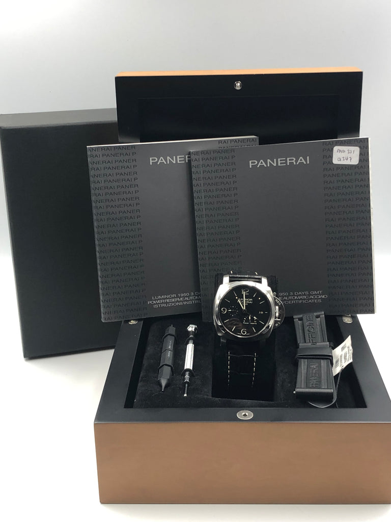 Panerai Luminor 1950 3 Days GMT Power Reserve PAM00321 [Preowned]