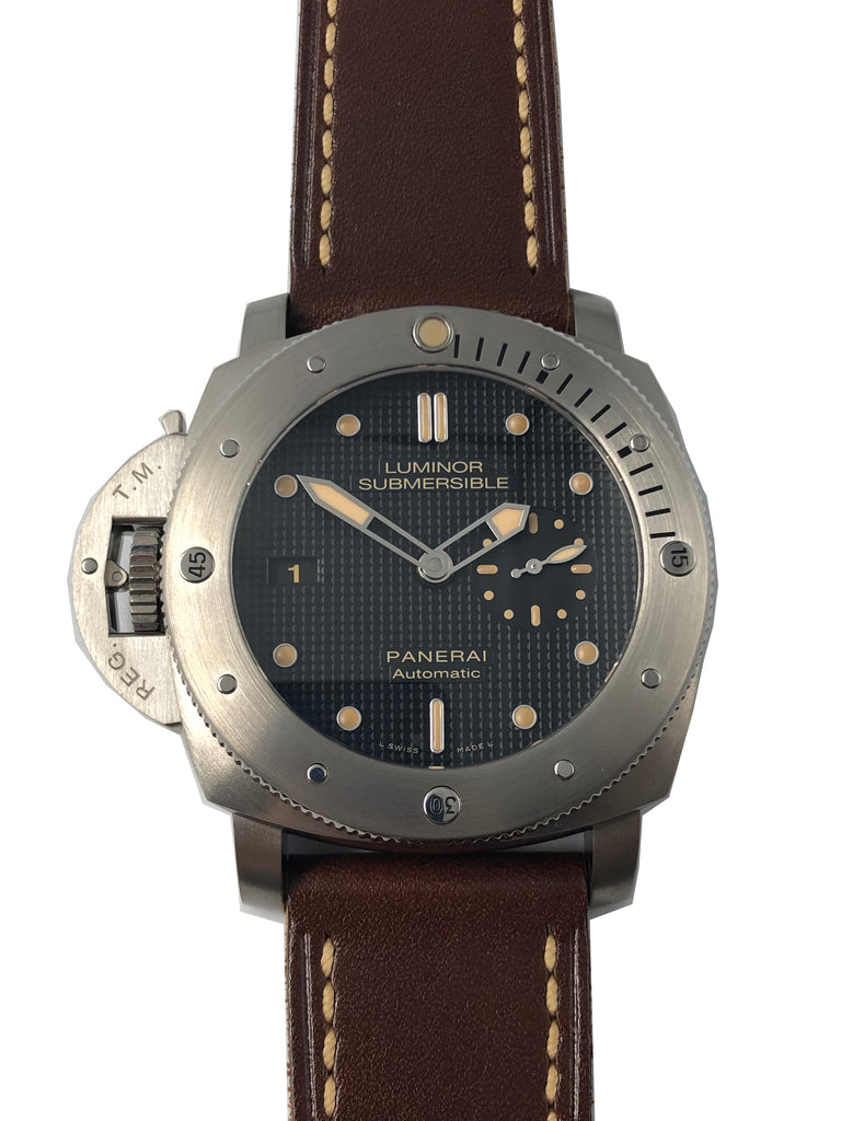 Panerai Submersible 1950 3 Days Destro Titanium Special Edition PAM00569 [Preowned]