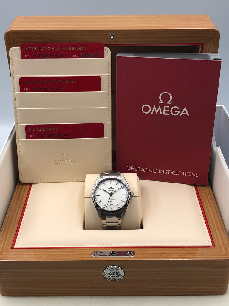 Omega Globemaster Co-Axial Master Chronometer 39mm 130.30.39.21.02.001