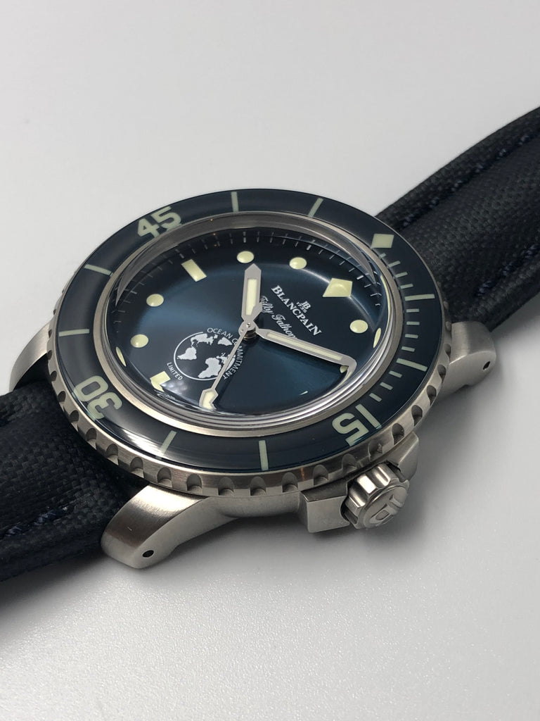 Blancpain Fifty Fathoms Ocean Commitment III Limited Edition 40mm