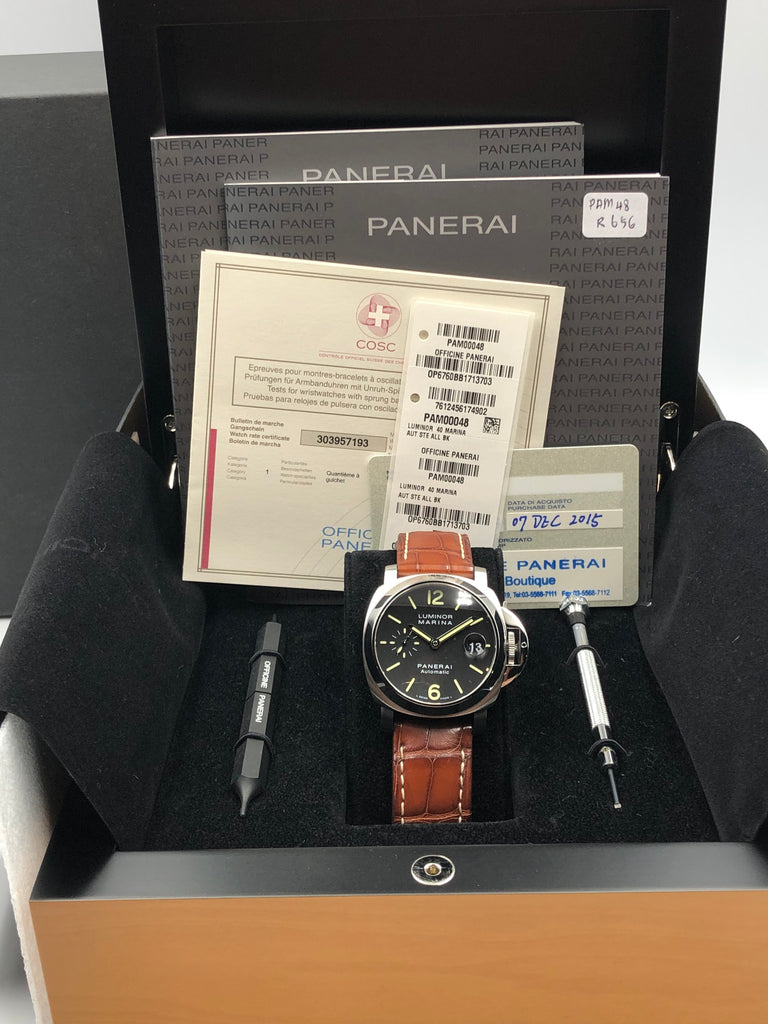 Panerai Luminor Auto 40mm PAM00048 [Preowned]