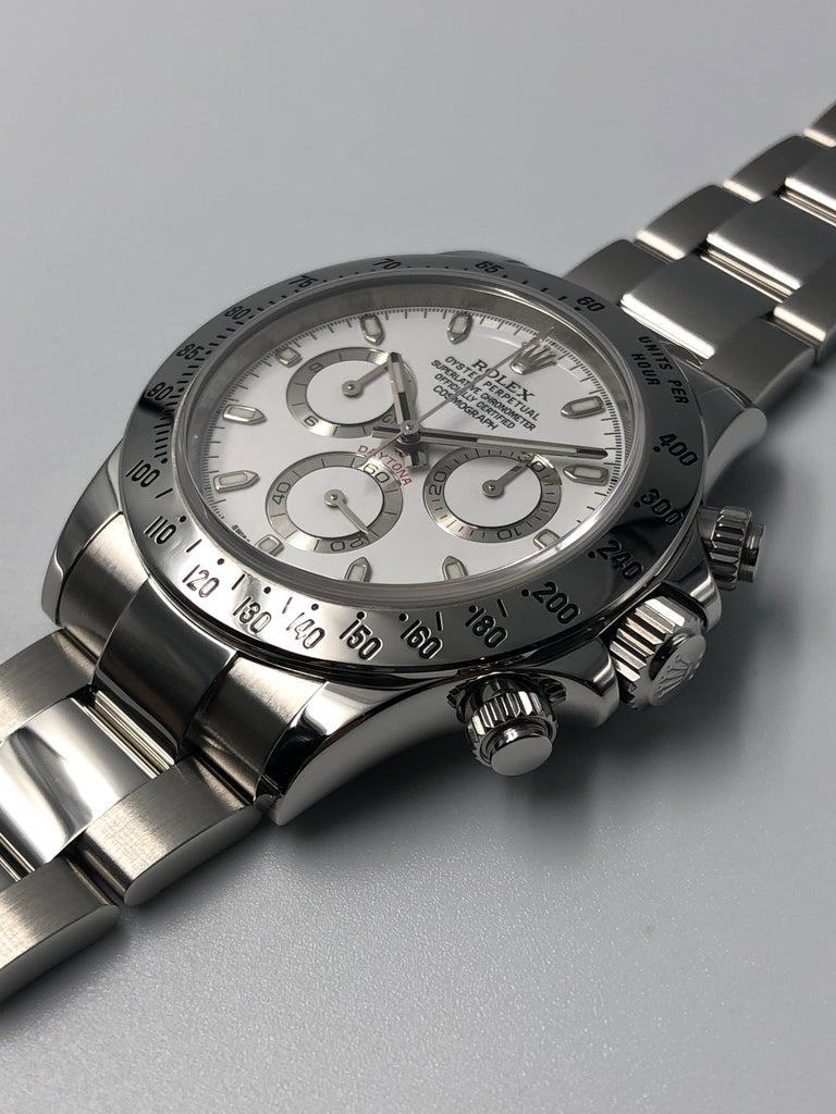 Rolex Cosmograph Daytona Steel 2016 - White Dial 116520 [Preowned]