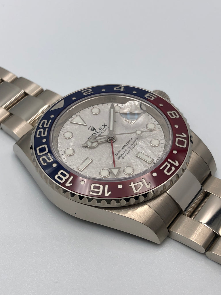 "Rolex GMT Master II ""Meteorite"" White Gold 126719BLRO 2019 [Preowned]"