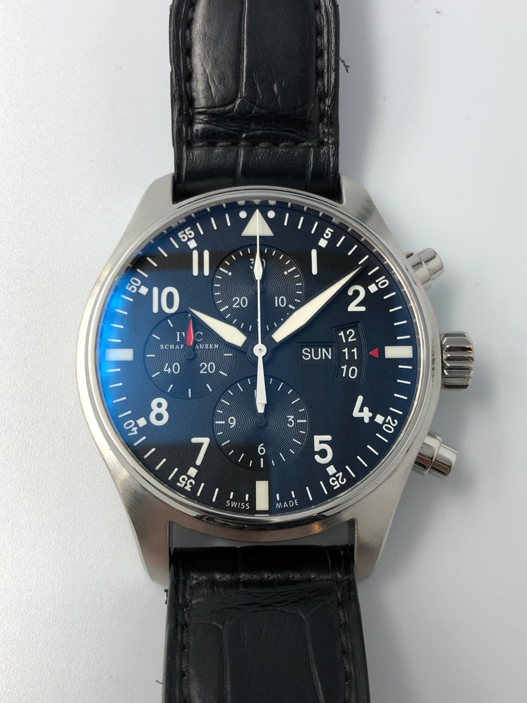 IWC Pilot Chronograph IW377701 2012 (Preowned)