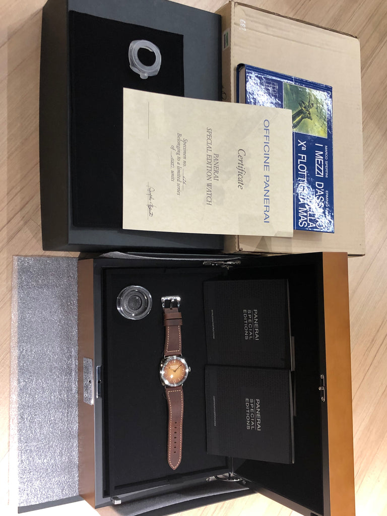 Panerai Radiomir 3 Days Brevetatto Tropical PAM00687 2017 [Preowned]